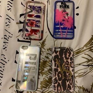 VS Pink iPhone 6/6s case bundle